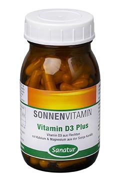 Vitamin D3 Plus <br /> 90 Kapseln (67 g)
