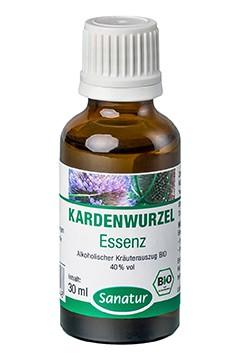 Kardenwurzel <br /> Essenz, BIO<br /> Alkoholischer Kräuterauszug (30 ml)
