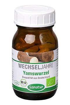 Yamswurzel <br /> BIO, 60 Kapseln (33 g)