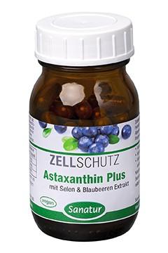 Astaxanthin Plus <br /> 60 Kapseln (26 g)