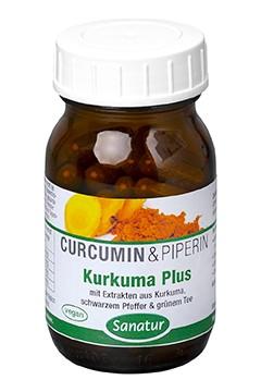 Kurkuma Plus <br /> 180 Kapseln (96 g)