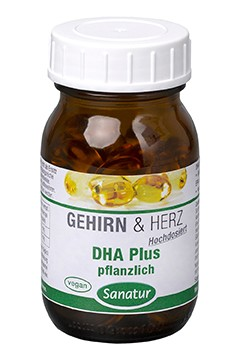 DHA Plus pflanzlich <br /> 80 Kapseln (46 g)