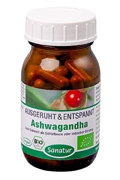 Ashwagandha <br /> BIO, 60 Kapseln (36 g)