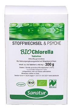 BioChlorella <br />Naturland<br /> ca. 750 Tabletten = 300 g