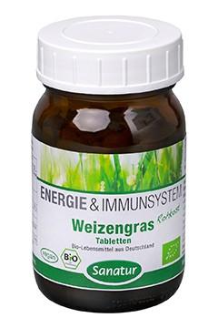 Weizengras <br /> BIO, 250 Tabletten (100 g)