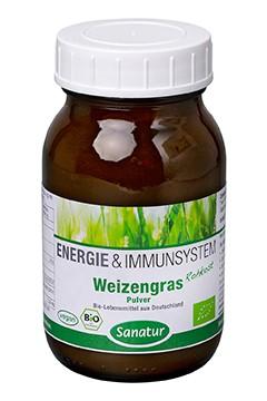 Weizengras <br /> BIO, 90 g Pulver