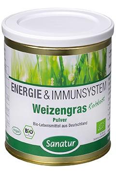 Weizengras <br /> BIO, 250 g Pulver