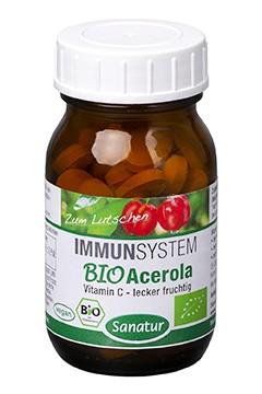 BioAcerola <br /> BIO, 60 Lutschtabletten (60 g)