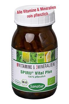 SPIRU® Vital Plus <br /> BIO, 90 Kapseln (47g)