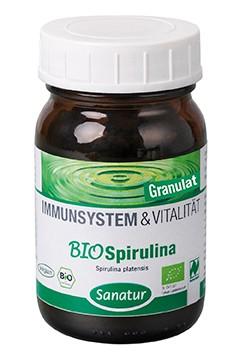 BioSpirulina<br />  Naturland<br />Granulat  130 g