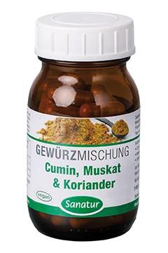 Cumin, Muskat & Koriander <br /> 90 Kapseln (37 g)