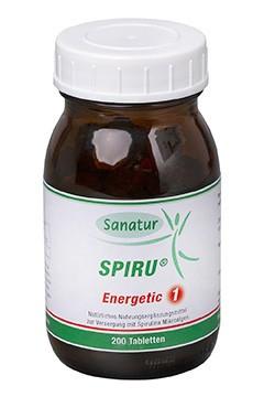SPIRU® Energetic 1 <br /> 200 Tabletten (80 g)