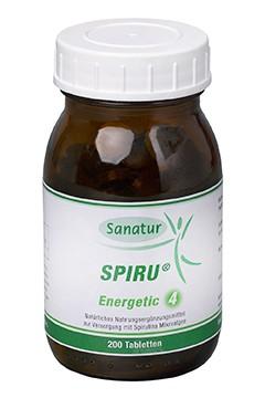 SPIRU® Energetic 4 <br /> 200 Tabletten (80 g)