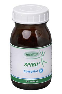 SPIRU® Energetic 5 <br /> 200 Tabletten (80 g)