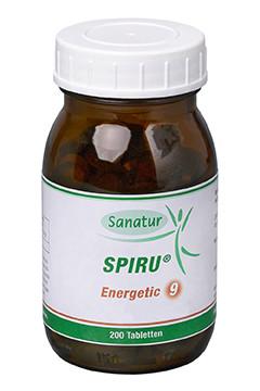 SPIRU® Energetic 9 <br /> 200 Tabletten (80 g)