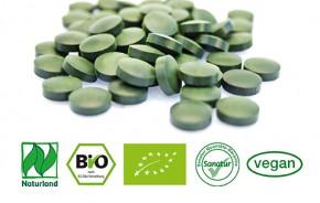 BioSpirulina & BioChlorella <br />Naturland<br />ca. 750 Tabletten = 300 g