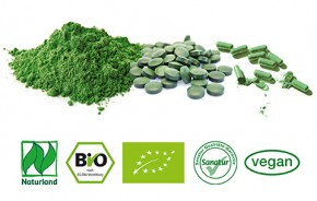 BioSpirulina<br />  Naturland<br /> ca. 500 Tabletten = 200 g